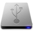 128x128px size png icon of USB HD Drive
