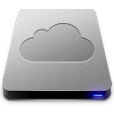 128x128px size png icon of iDisk Drive