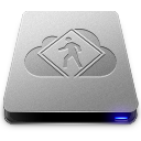 128x128px size png icon of iDisk User Drive