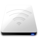 128x128px size png icon of AirPort White