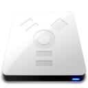 FireWire White Icon