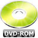 128x128px size png icon of DVD ROM
