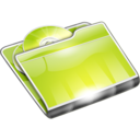 128x128px size png icon of Folders CD Folder