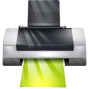 128x128px size png icon of Hardware Print