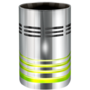 128x128px size png icon of Hardware Trash empty