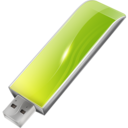128x128px size png icon of Hardware USB key