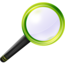 128x128px size png icon of Search Search