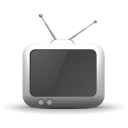 128x128px size png icon of television 03