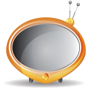 128x128px size png icon of television 06