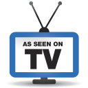 128x128px size png icon of television 07