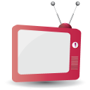 128x128px size png icon of television 11