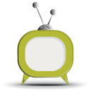 128x128px size png icon of television 12