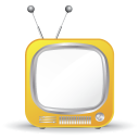 128x128px size png icon of television 13