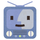 128x128px size png icon of Terebi Finder Flat