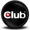 128x128px size png icon of Club 3D Grafikcard Tray