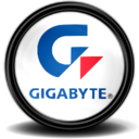 128x128px size png icon of Gigabyte Grafikcard Tray