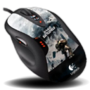 128x128px size png icon of Logitech G5 Laser Mouse BF2142 Edition
