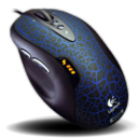 128x128px size png icon of Logitech G5 Laser Mouse Refresh