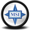 128x128px size png icon of MSI Grafikcard Tray