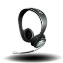 128x128px size png icon of Sennheiser PC 150