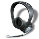 128x128px size png icon of Sennheiser PC150 2