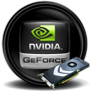 128x128px size png icon of nVidia Gforce8800GT
