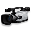 128x128px size png icon of Camcorder active
