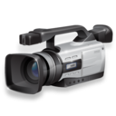 128x128px size png icon of Camcorder