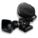 128x128px size png icon of Film camera 35mm active