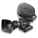 128x128px size png icon of Film camera 35mm inactive