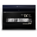 128x128px size png icon of Mini dv active