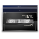 128x128px size png icon of Mini dv