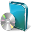128x128px size png icon of DVD Box