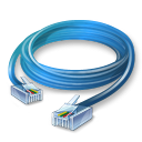 128x128px size png icon of Ethernet Cable
