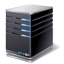 128x128px size png icon of Home Server
