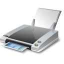 128x128px size png icon of Inkjet Printer
