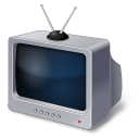 128x128px size png icon of TV Set Retro