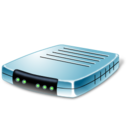128x128px size png icon of Modem