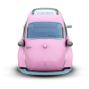 128x128px size png icon of Pink Car