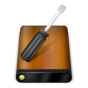 128x128px size png icon of Wood Drive Tools