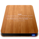 128x128px size png icon of Wooden Slick Drives   BSOD