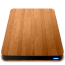 128x128px size png icon of Wooden Slick Drives   External