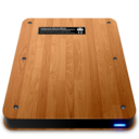 128x128px size png icon of Wooden Slick Drives   Internal