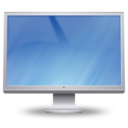 128x128px size png icon of Cinema Display On