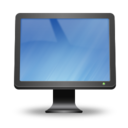 128x128px size png icon of Computer On