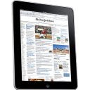 128x128px size png icon of iPad Side Newspaper
