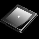 128x128px size png icon of iPod nano black