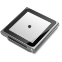 128x128px size png icon of iPod nano silver