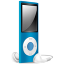 iPod Nano blue off Icon