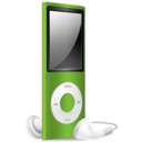 iPod Nano green off Icon
